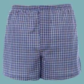 Bokserki dla mężczyzn na nietrzymanie moczu (inkontynencję stopnia 1) z chłonnymi warstwami NIEBIESKIE DryMed