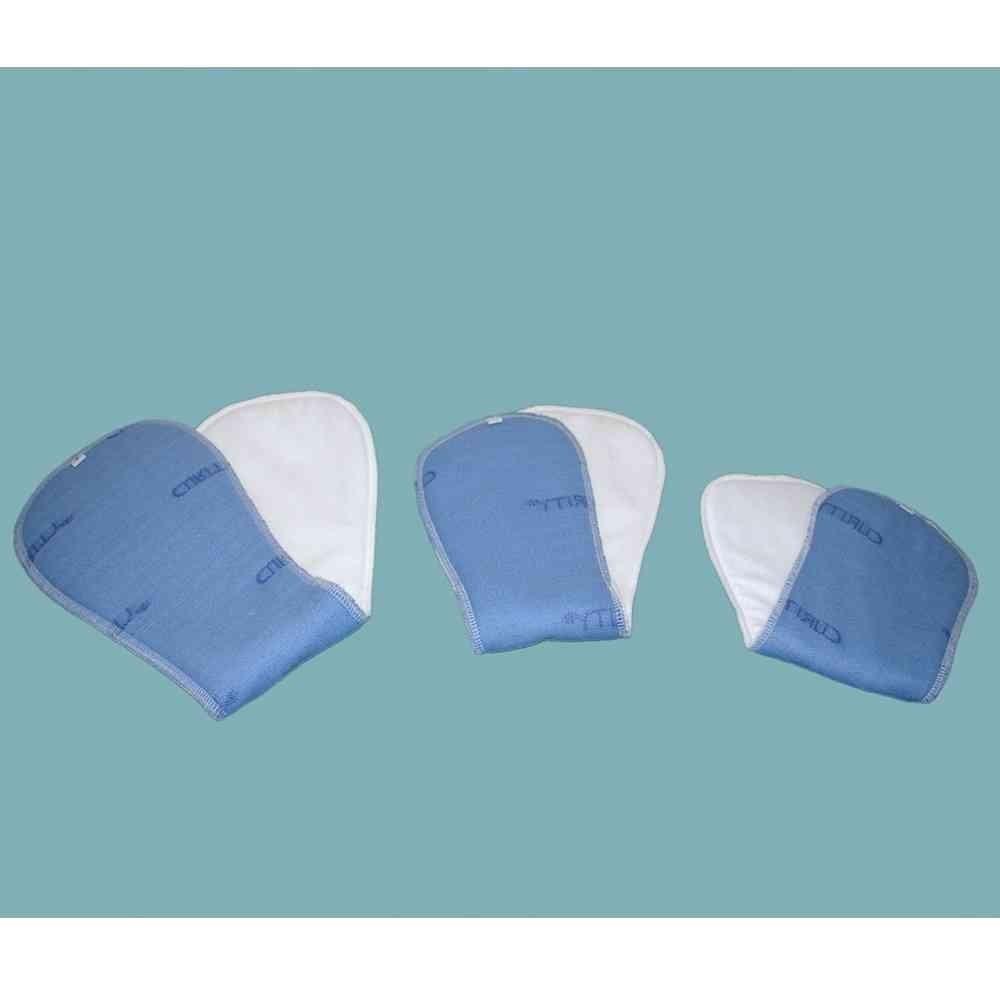 Wkładki męskie wielokrotnego użytku na nietrzymanie moczu (inkontynencję), również na noc, białe,  DryMed